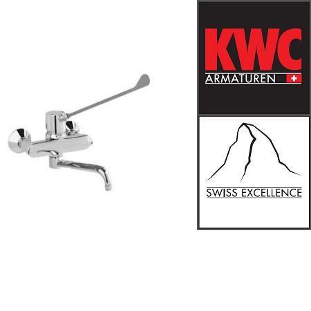 KWC Gastro K.24.62.16.000B91 Gastro-Wandarmatur Einhebelmischer mit langem Hebel - Auslauf lang