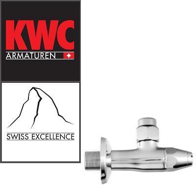 """KWC Gastro K.27.40.25.000A48 3/4"""" Eckventil für 15 mm Kupferrohr Schneidringverschraubung"""