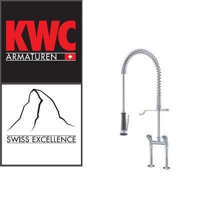 KWC Gastro K.24.42.62.000C71 Geschirrbrause ohne Schwenkauslauf Doppelrohr - Zweigriffmischer