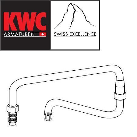 KWC Gastro Z.503.674.000 Doppelgelenk-Schwenkauslauf oben für KWC Gastro-Armaturen