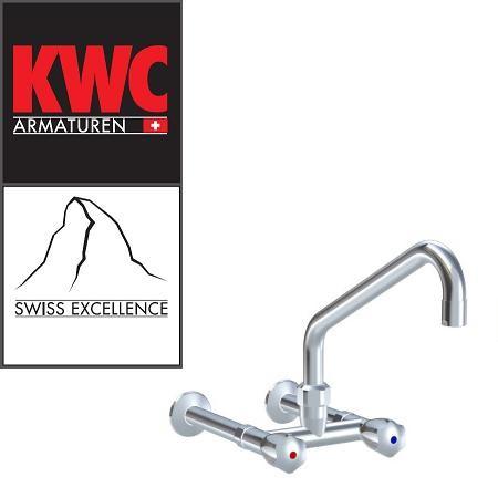 KWC Gastro K.24.42.22.000C74 Gastronomie-Wandarmatur Zweihebelmischer hoch