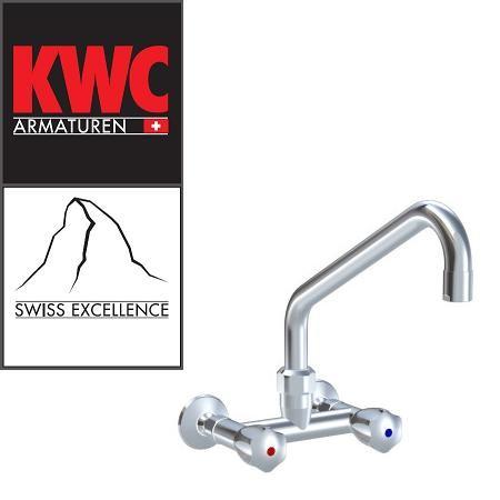 KWC Gastro K.24.42.21.000C86 Gastronomie-Wandarmatur Zweihebelmischer hoch