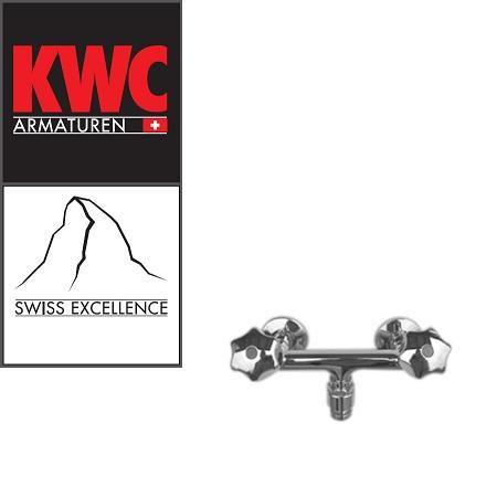 """KWC Gastro K.24.42.00.000C76 Gastronomie-Zweigriff-Wandarmatur mit Schlauchanschluss 1/2"""""""