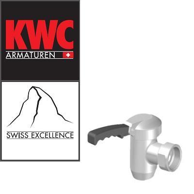 "KWC Gastro 01332007 Kochkesselarmatur - 1½"" Entleerhahn"