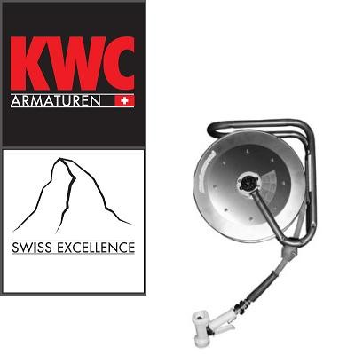 KWC Gastro 49800193 Auszieh-Schlauchbrause mit Schlauchaufroller 10 Meter