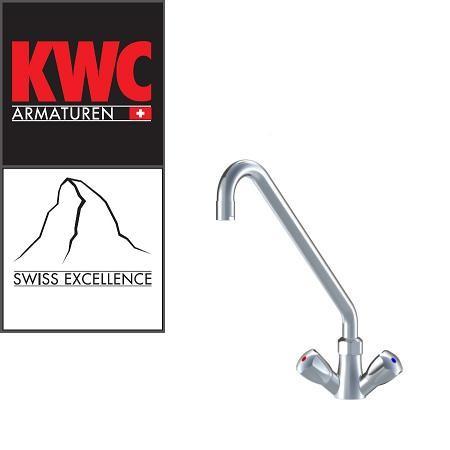 KWC Gastro K.24.41.A2.000C07 Gastronomie-Armatur Zweihebelmischer - hohe Bauform