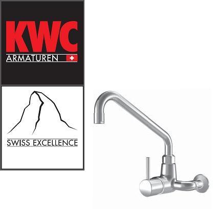 KWC Gastro 24.502.196.000 Gastronomie-Wandarmatur Einhebelmischer