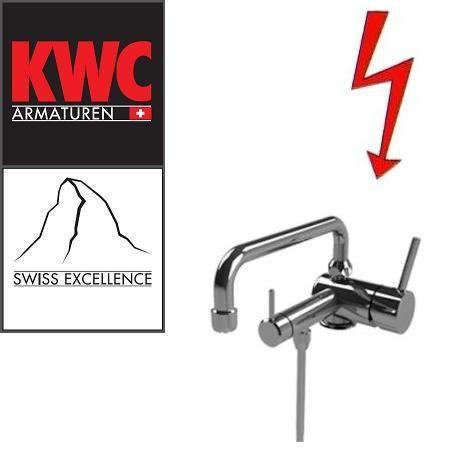KWC Gastro 205.101 C Niederdruck-Thekenarmatur mit Unterspülrohr einfach - Einhebelmischer