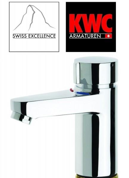 KWC 136.10.000FL Franke AQUAMIX-C Handwaschbecken-Armatur mit Druckspüler - Hydraulische Automatik