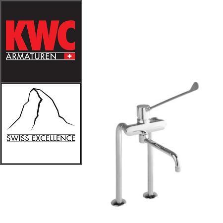 KWC Gastro K.24.62.46.000B87 Gastro Spültisch-Armatur mit langem Hebel - Auslauf lang - Zweiloch